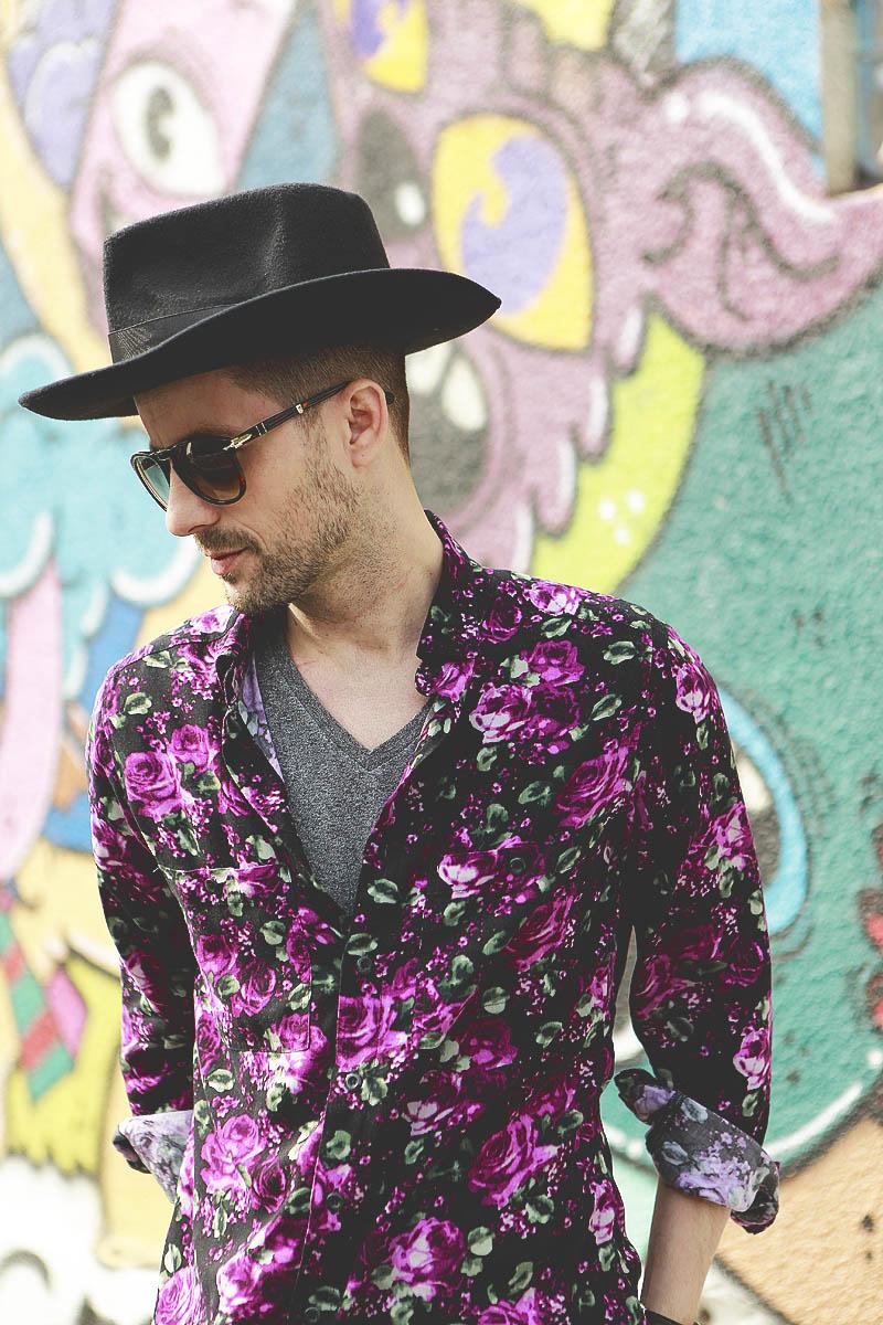 Adrian Sina - floral shirt - 3