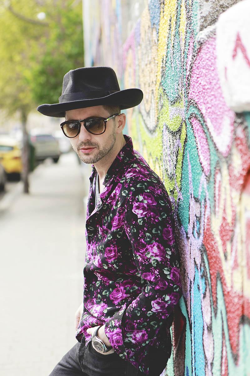 Adrian Sina - floral shirt - 5