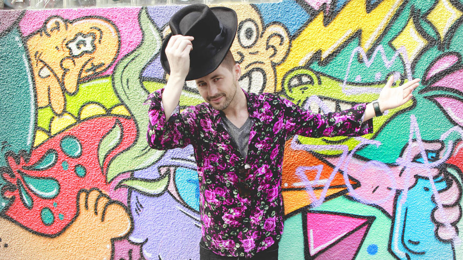 Adrian Sina - floral shirt - 8