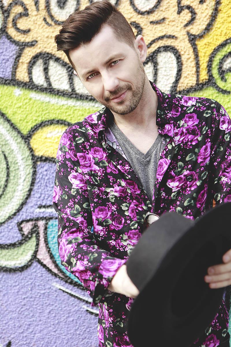 Adrian Sina - floral shirt - 9
